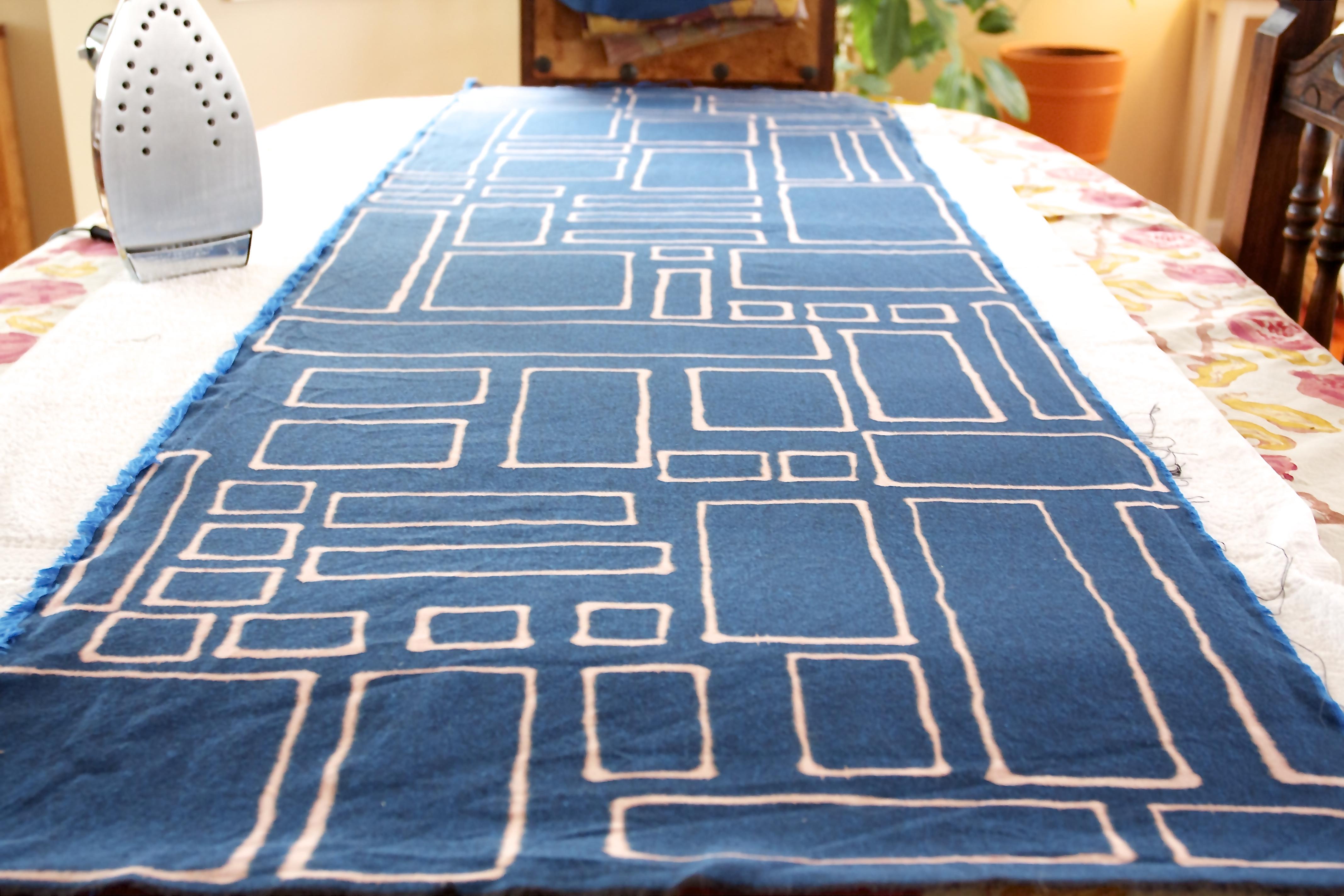 washed fabric