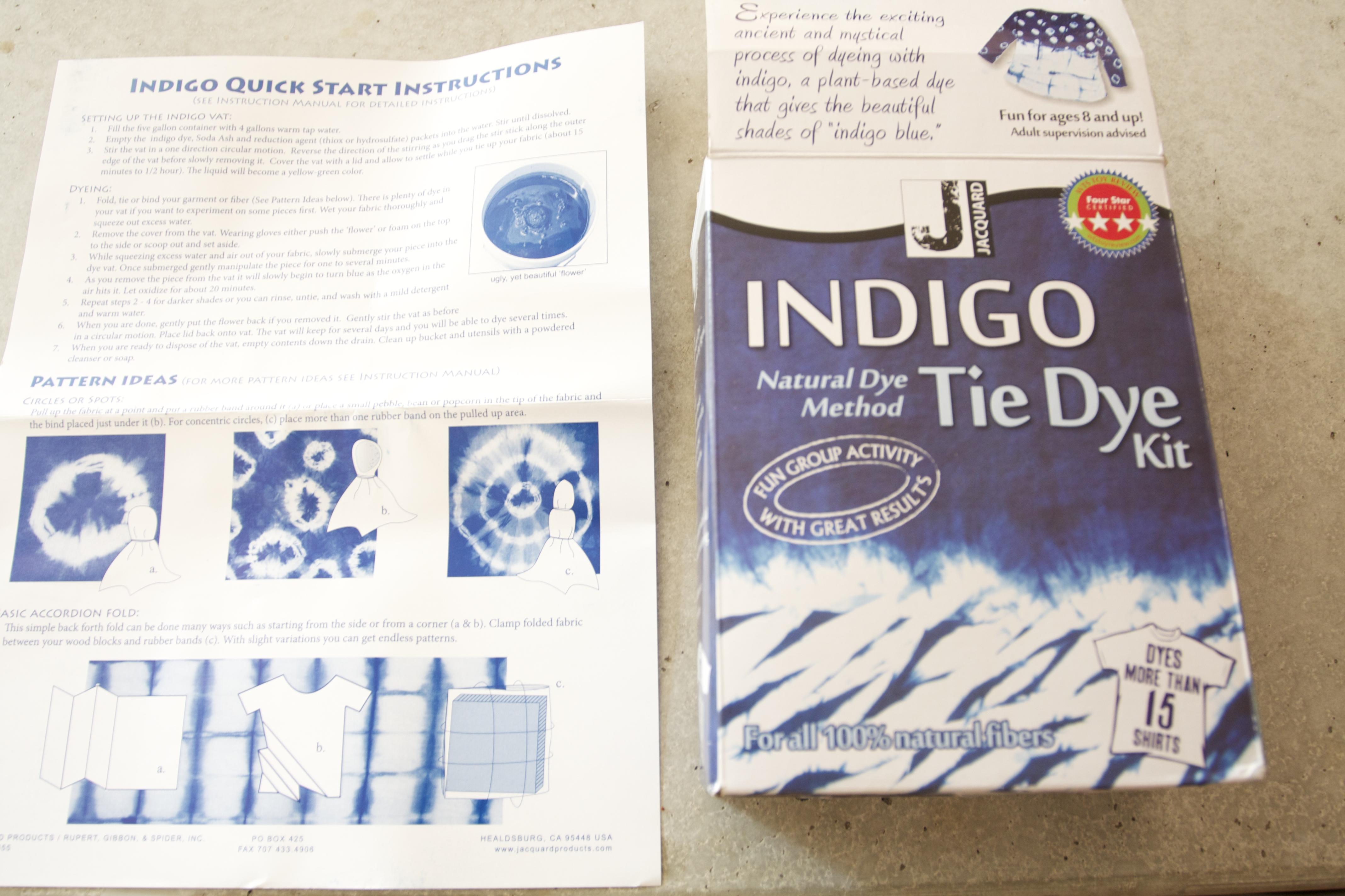 I Tried It: Shibori Dyeing