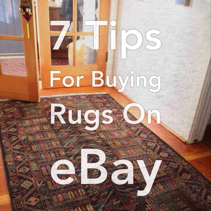 7 Tips for Buying Rugs on eBay